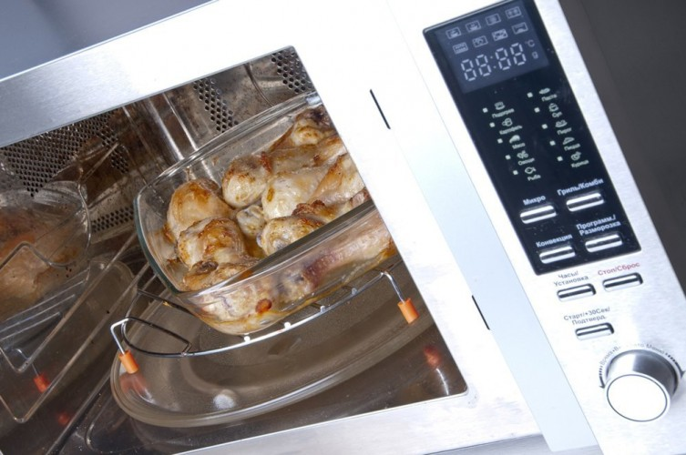 close up of Best Convection Microwave