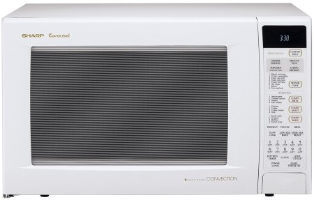 The Sharp R 930ak 1 2 Cubic Feet 900 Watt Convection Microwave White Is A Por Model In Its Cl It Presently Sold At Price Of Roughly 445