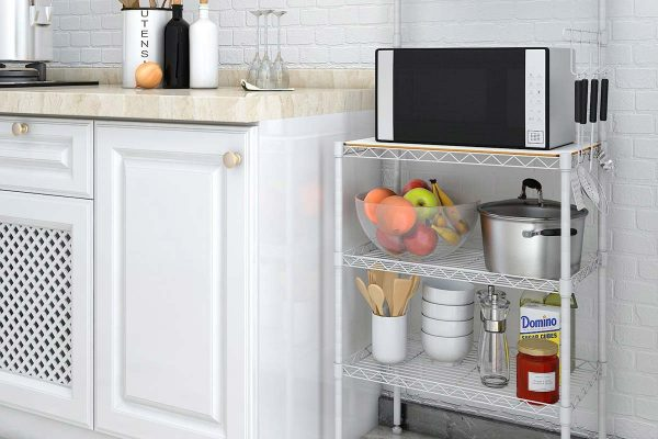 Need A Kitchen Microwave Stand With Storage? – 3 Popular Models Rated